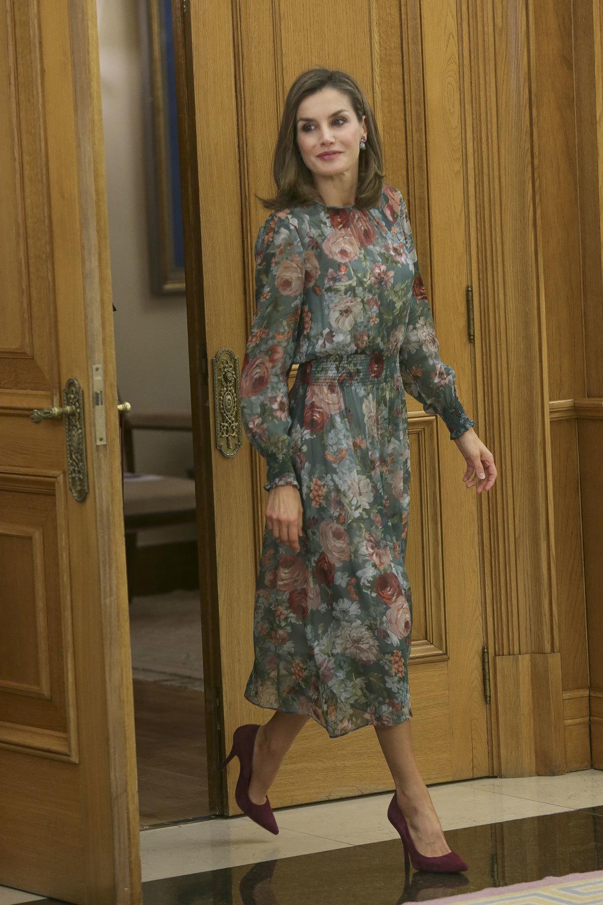 El vestido de Zara de la Reina Letizia