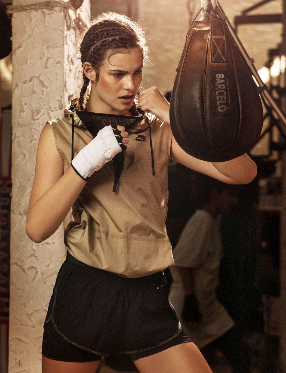 El saco de boxeo adelgazar