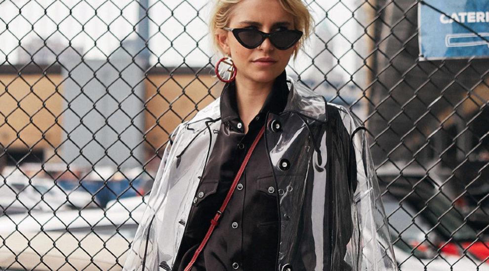 La it girl Caroline Daur durante la New York Fashion Week.