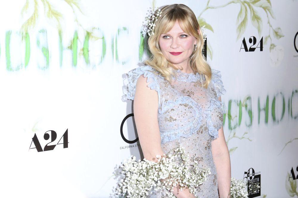 Kirsten Dunst: flequillo cortina