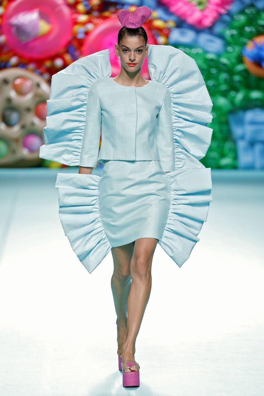 Diseño de la colección de Ágatha Ruiz de la Prada Primavera-Verano...
