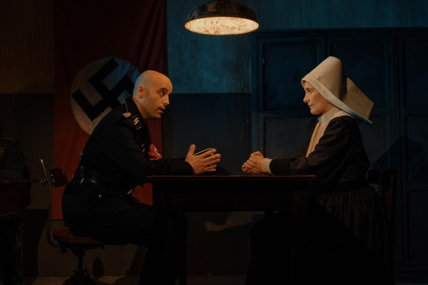 """Una escena de la película """"Red de Libertad"""", con Raúl Escudero y..."""