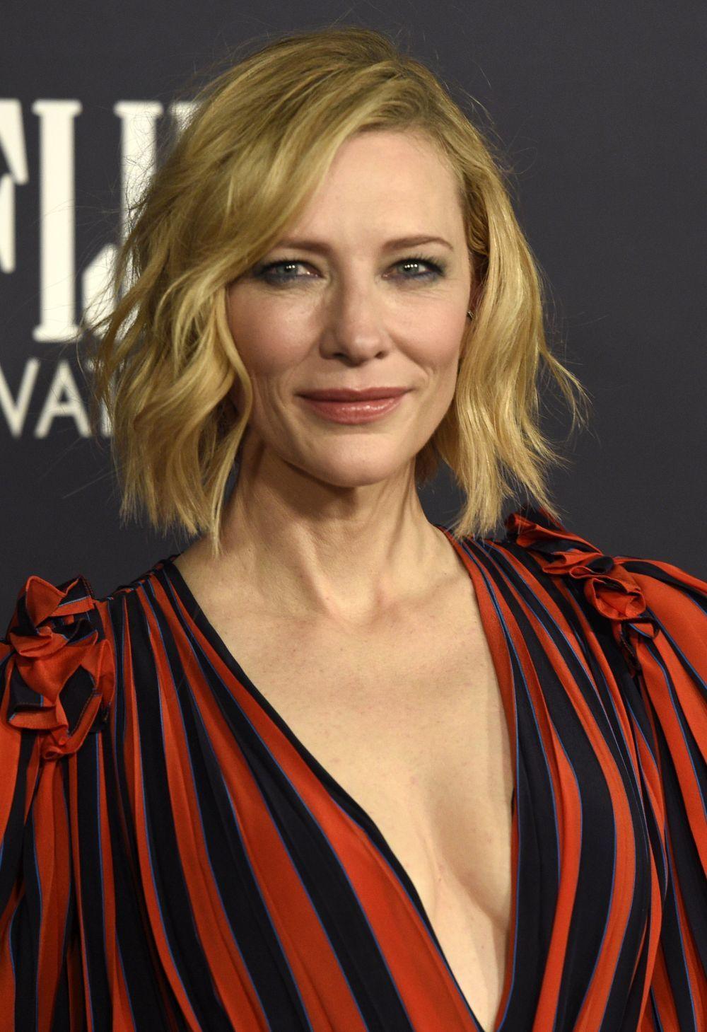 La actriz Cate Blanchett.