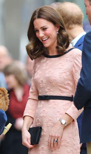 Kate Middleton enseña sus uñas naturales sin ningún esmalte