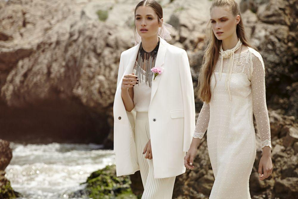 Vestido blanco hermana novia