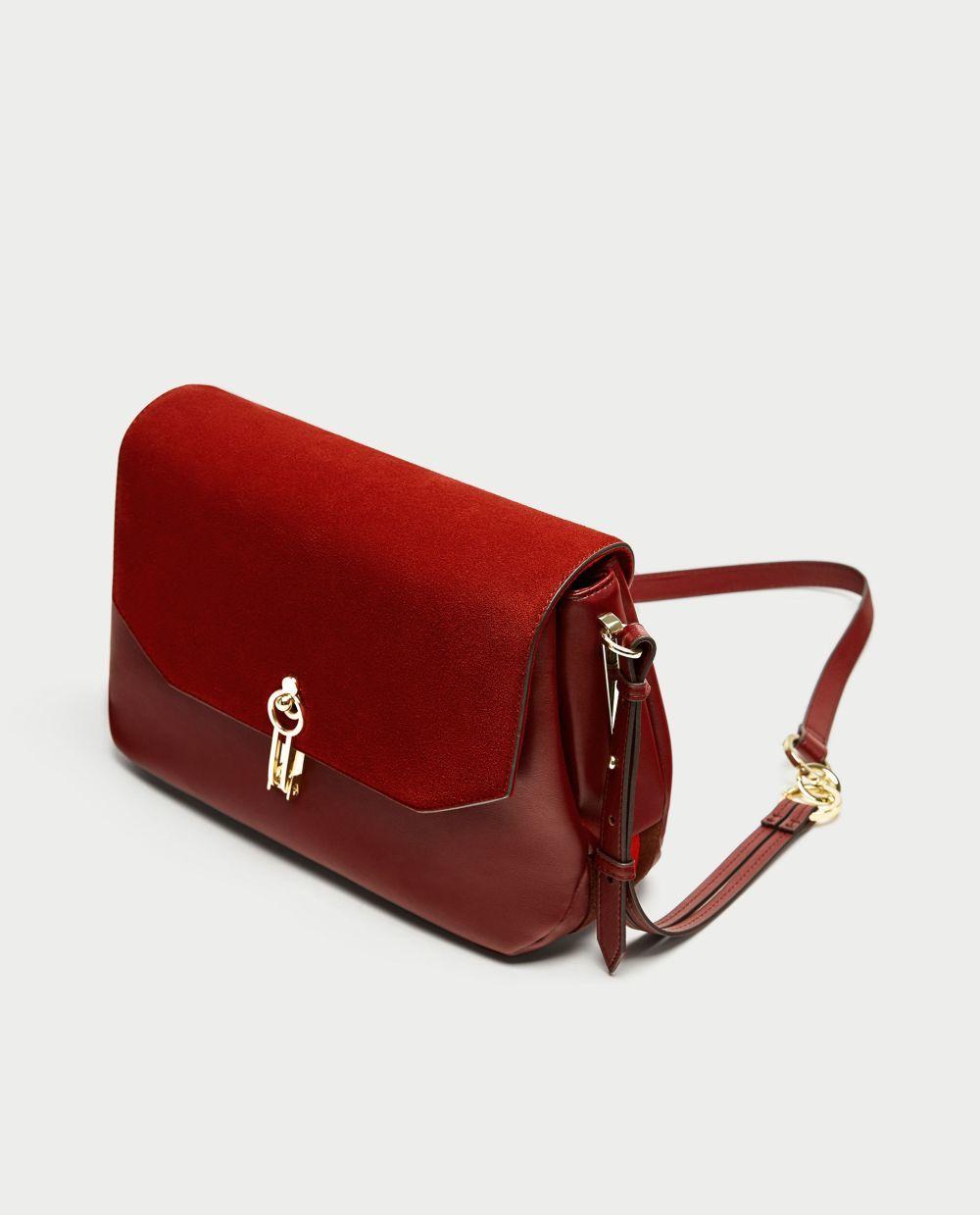 Bolso Zara (39,95 euros)