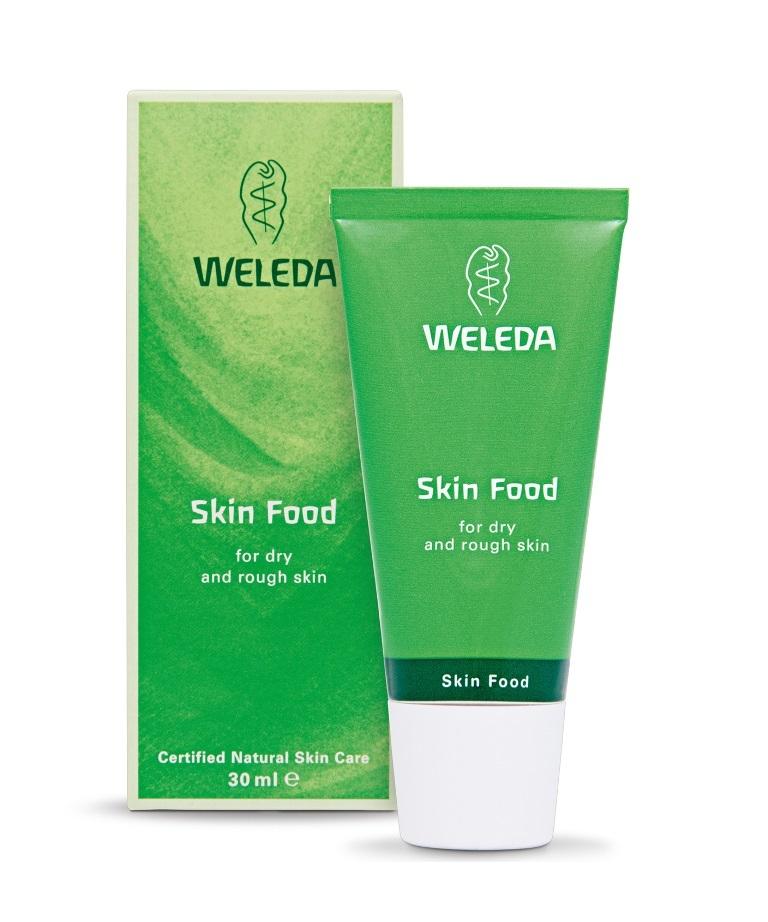 Crema hidratante corporal Skin Food, de Weleda.