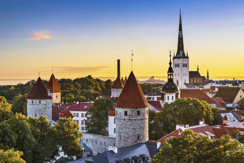 Tallin, en Estonia.