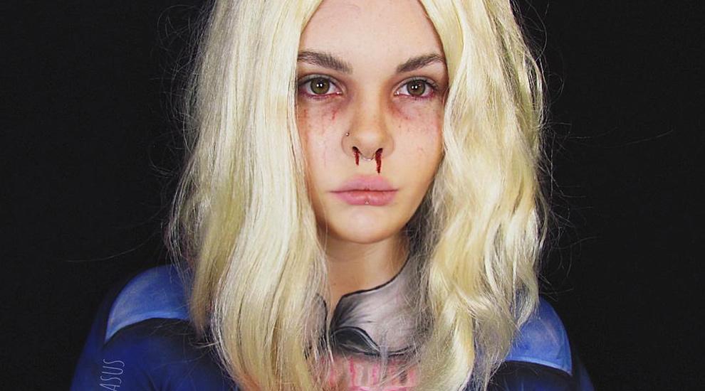 Otro de los maquillajes de Halloween más solicitados este año es el...