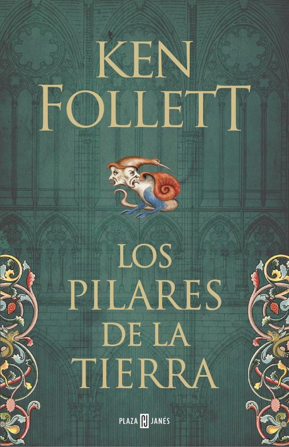 Primer volumen de la trilogía Los pilares de la tierra.
