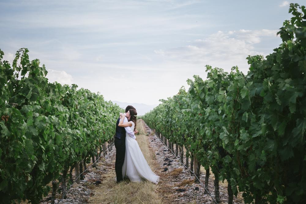 María y Diego se casaron en una boda sencilla en un monasterio y...