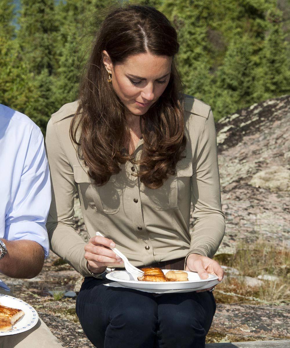 Kate Middleton y su plato rico en proteínas y grasas buenas.