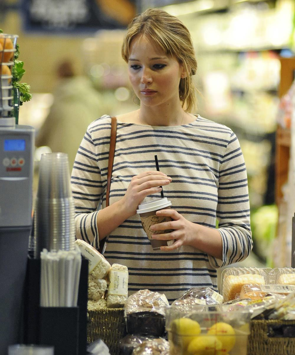 En la dieta de Jennifer Lawrence no faltan las verduras ni las...