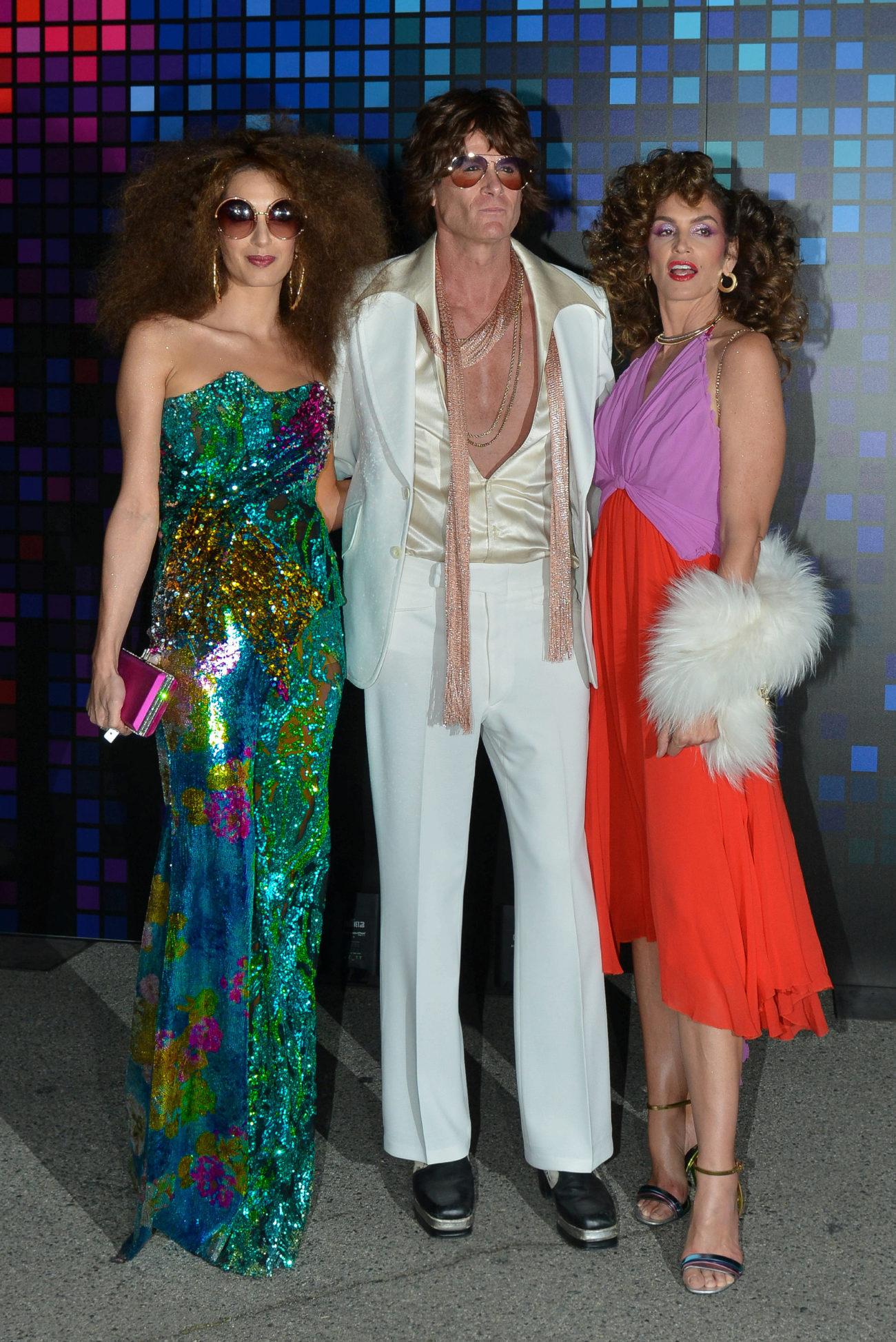 Amal Clooney, Rande Gerber y Cindy Crawford rindieron su particular...