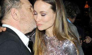 Harvey Weinstein y la actriz Olivia Wilde.