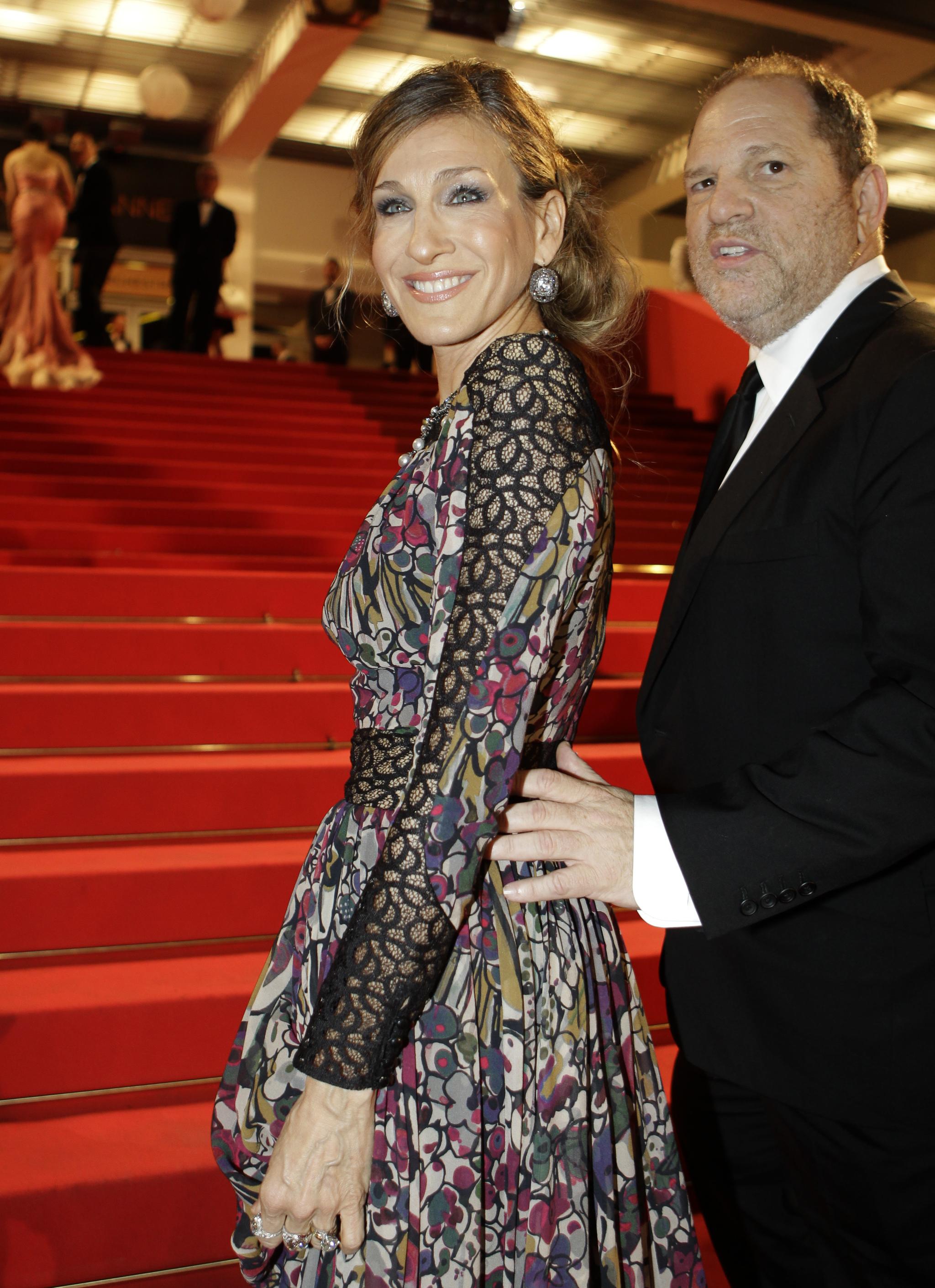 Harvey Weinstein y la Sarah Jessica Parker