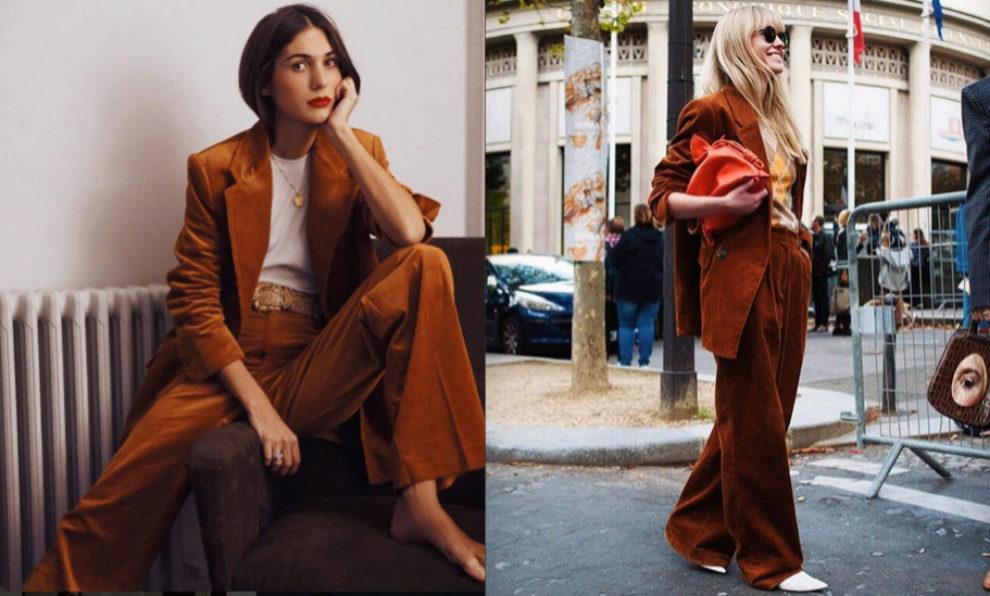 A la izquierda, el sastre que propone Mango. A la derecha, el de H&M.