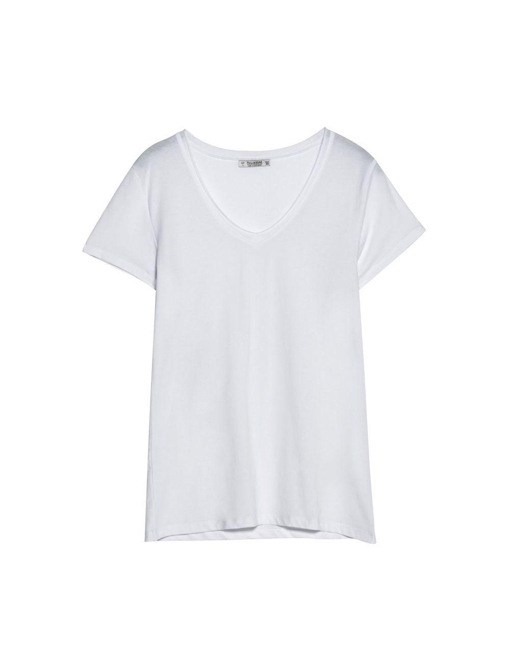 Camiseta básica Pull&Bear (4,99 euros)