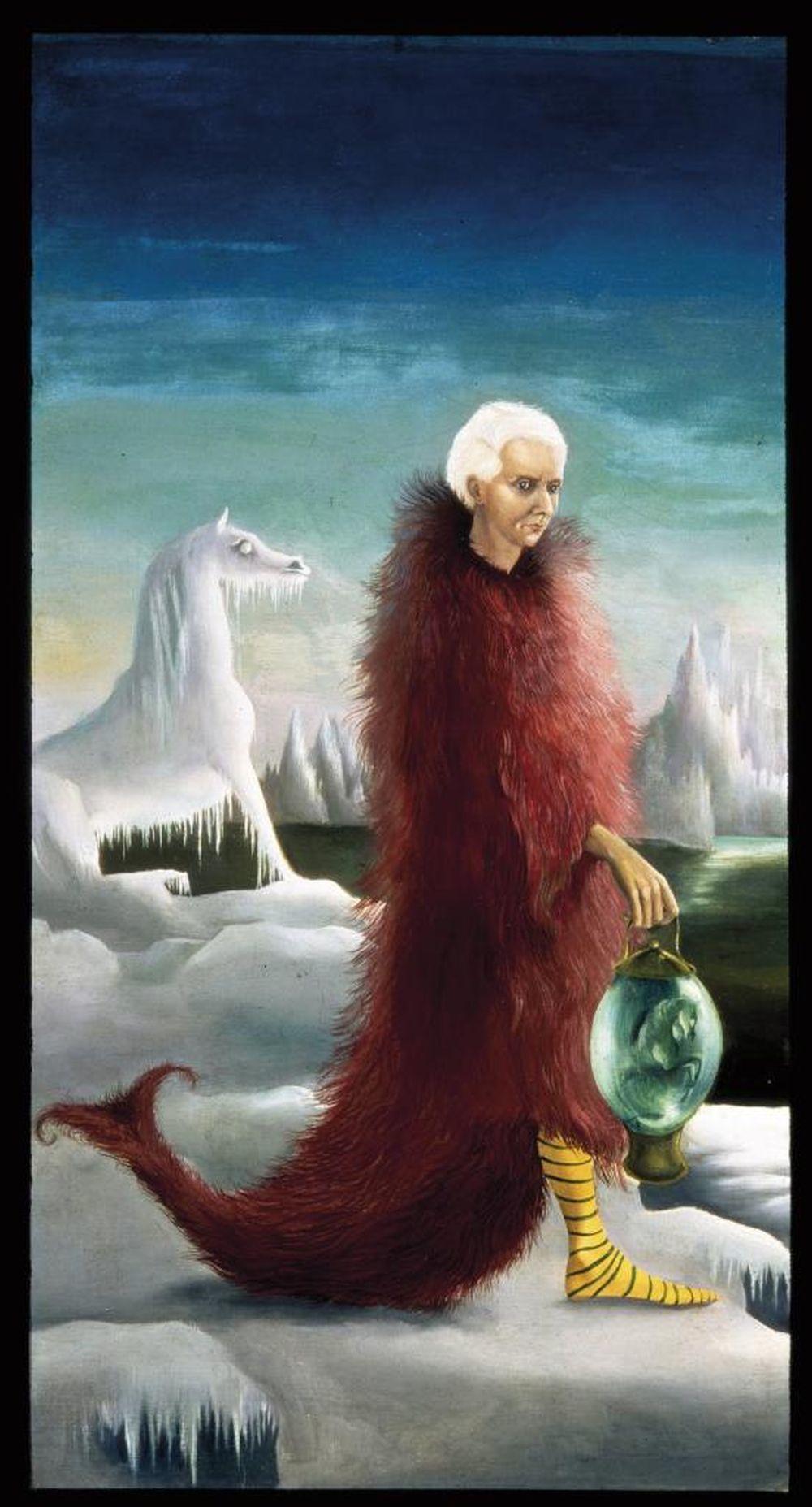 <em>Retrato de Max Ernst</em>,L. Carrington,