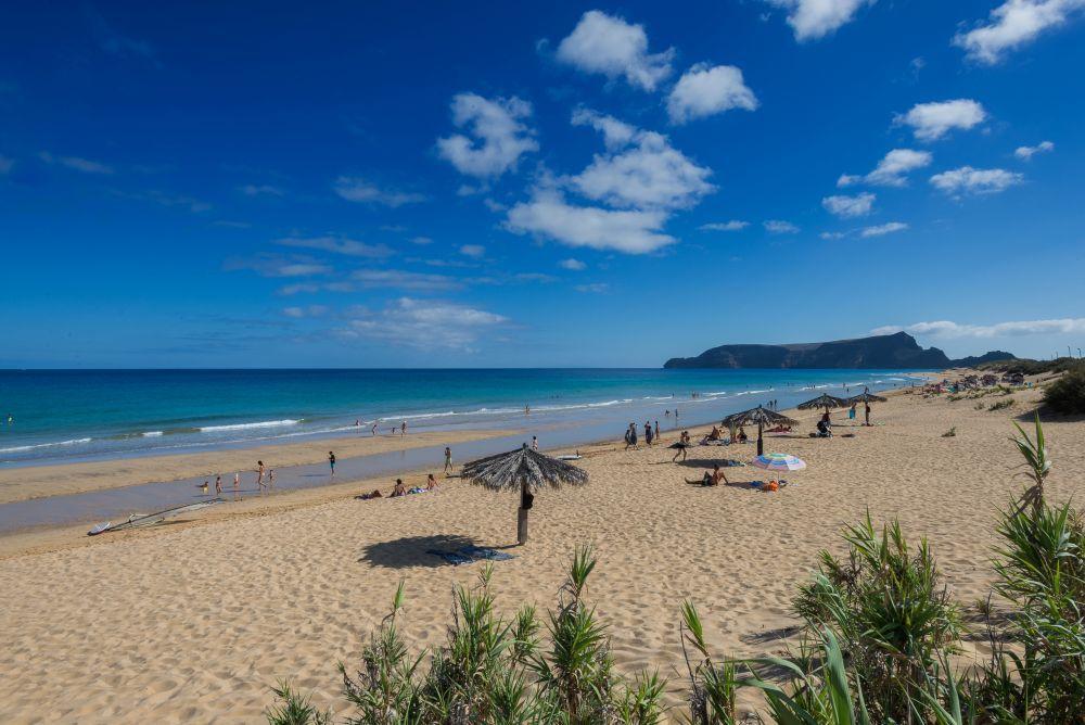 Playa de Porto Santo, una de las siete mejores de Portugal