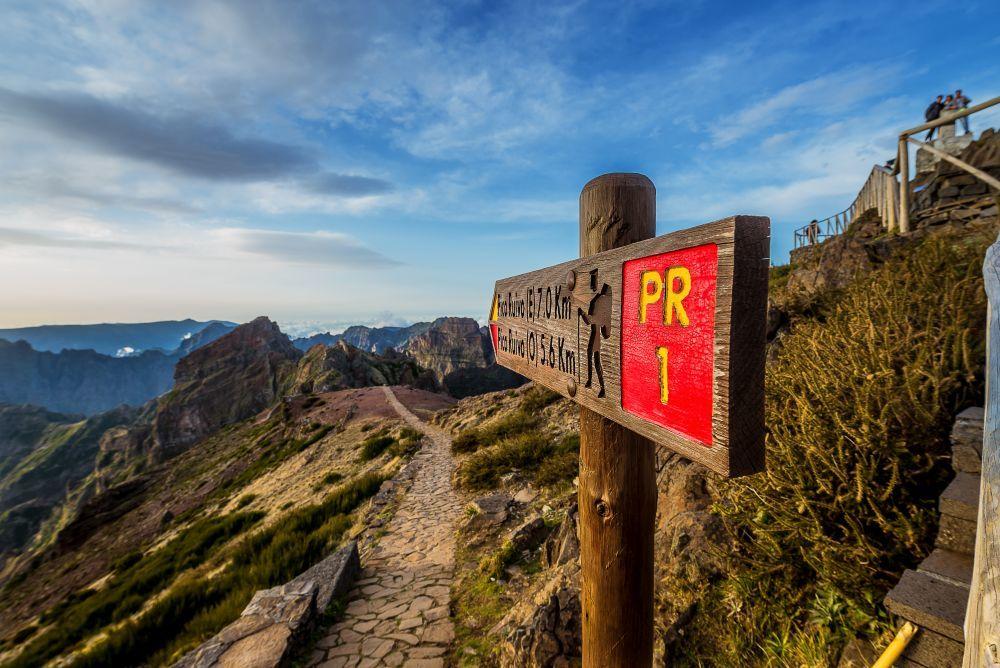 Pico de Areeiro, Maderia