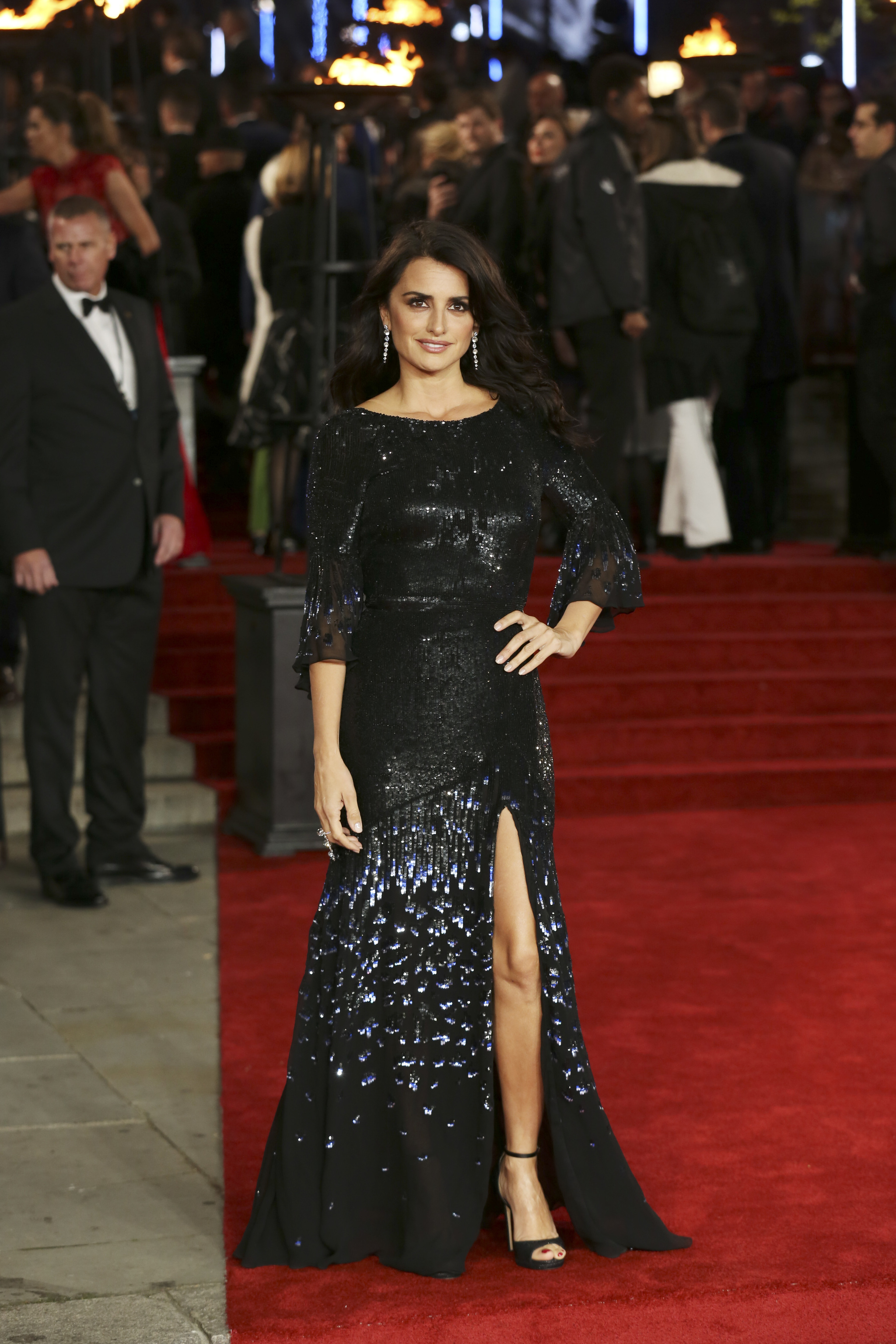 Penélope Cruz de Temperley London.