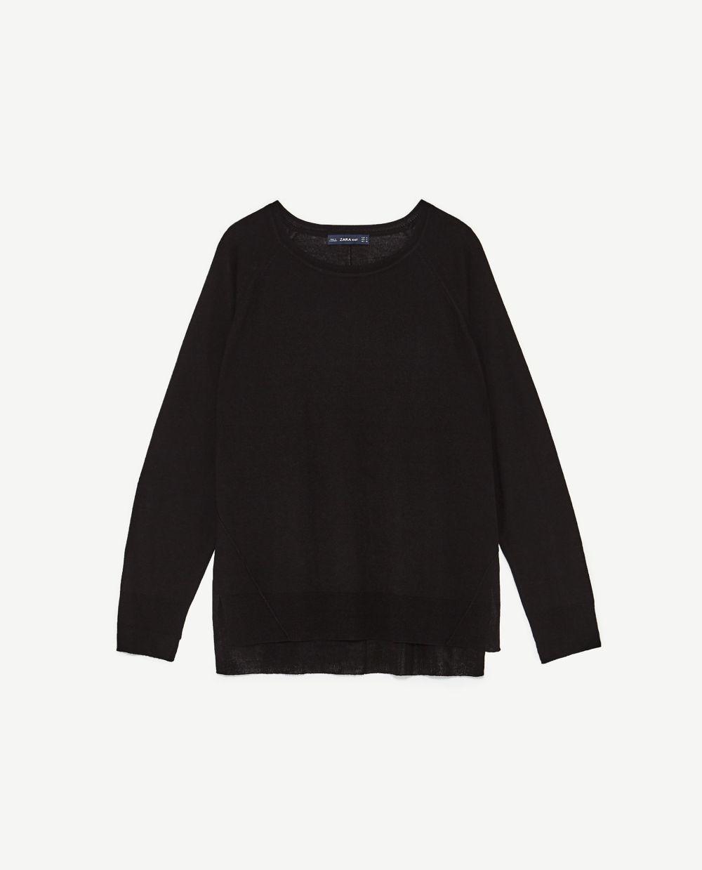 Jersey de Zara (12,95 euros)
