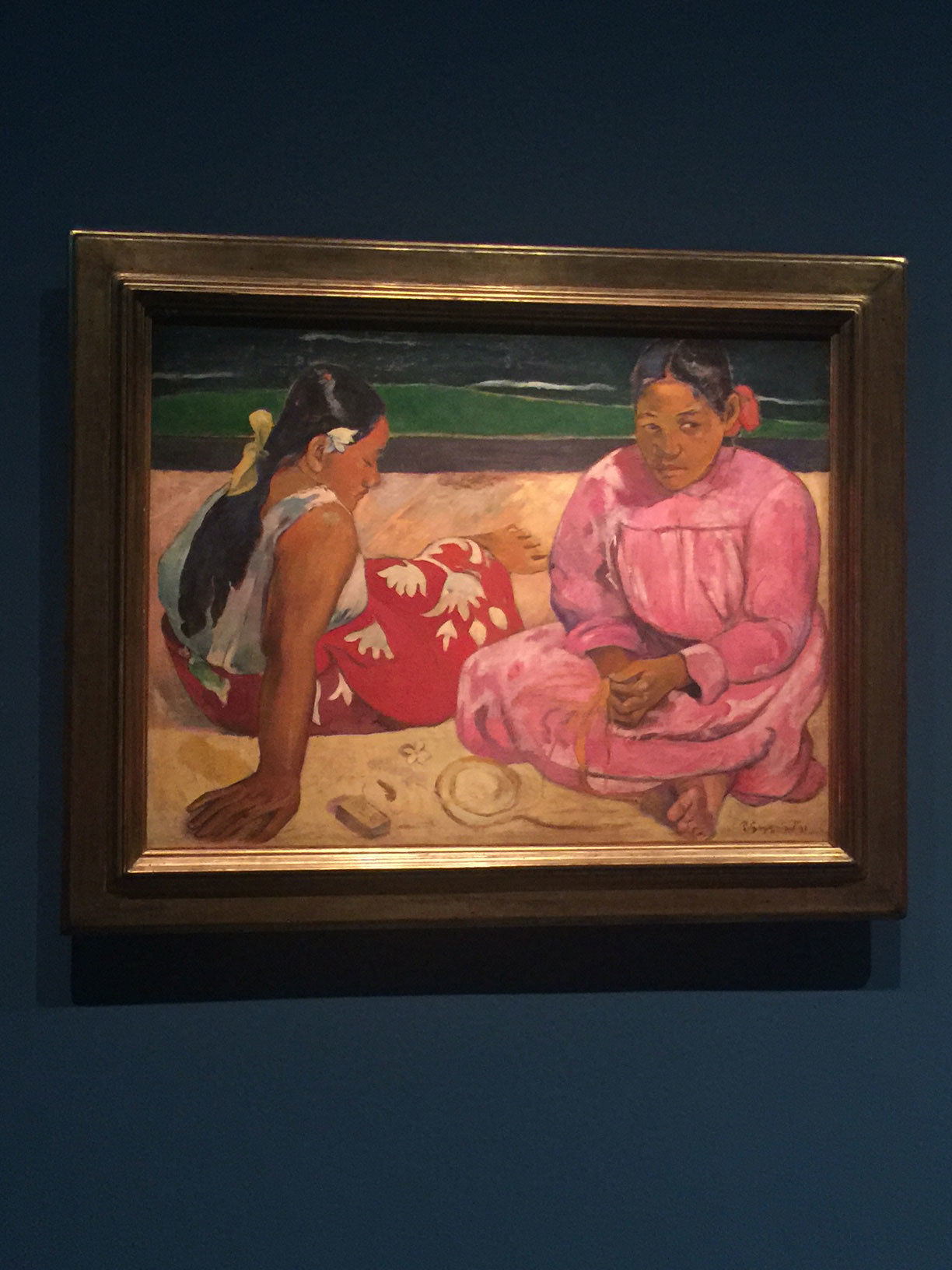 La muestra de Gauguien en el Grand Palais.