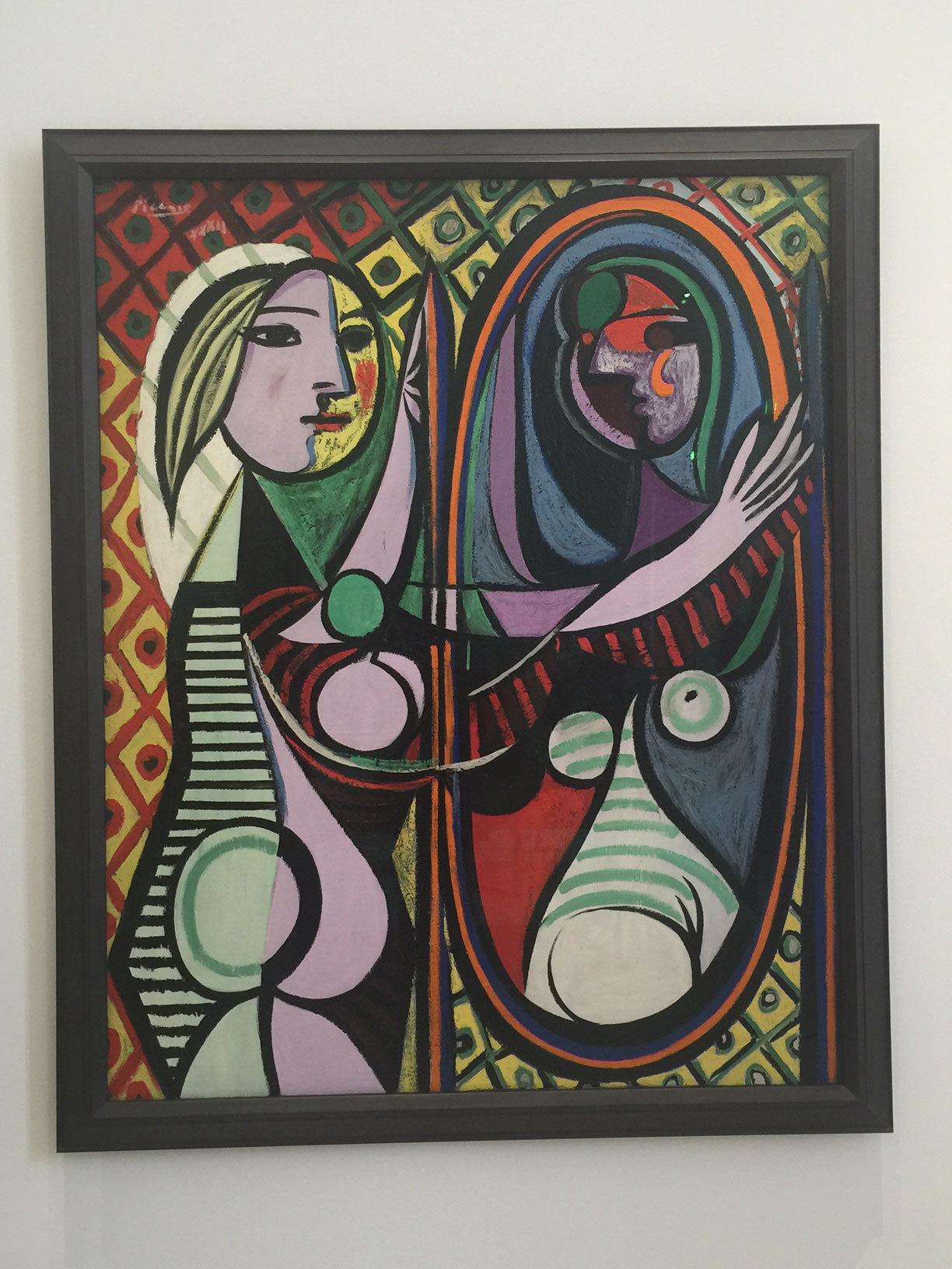 Exposición sobre Picasso, en el Musée Picasso.