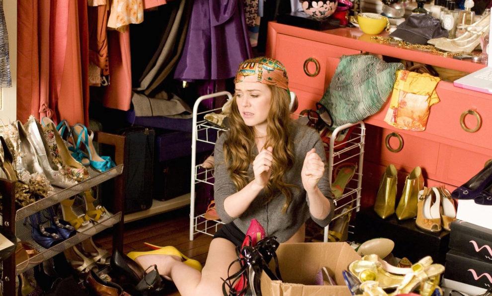 "Fotograma de la película ""Shopaholic""."