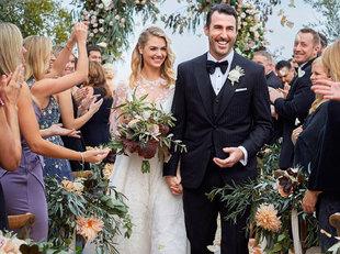 La pareja se ha casado en un castillo de Italia.