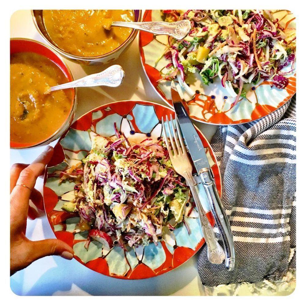A Meghan le encantan las recetas veganas porque le hacen sentir bien