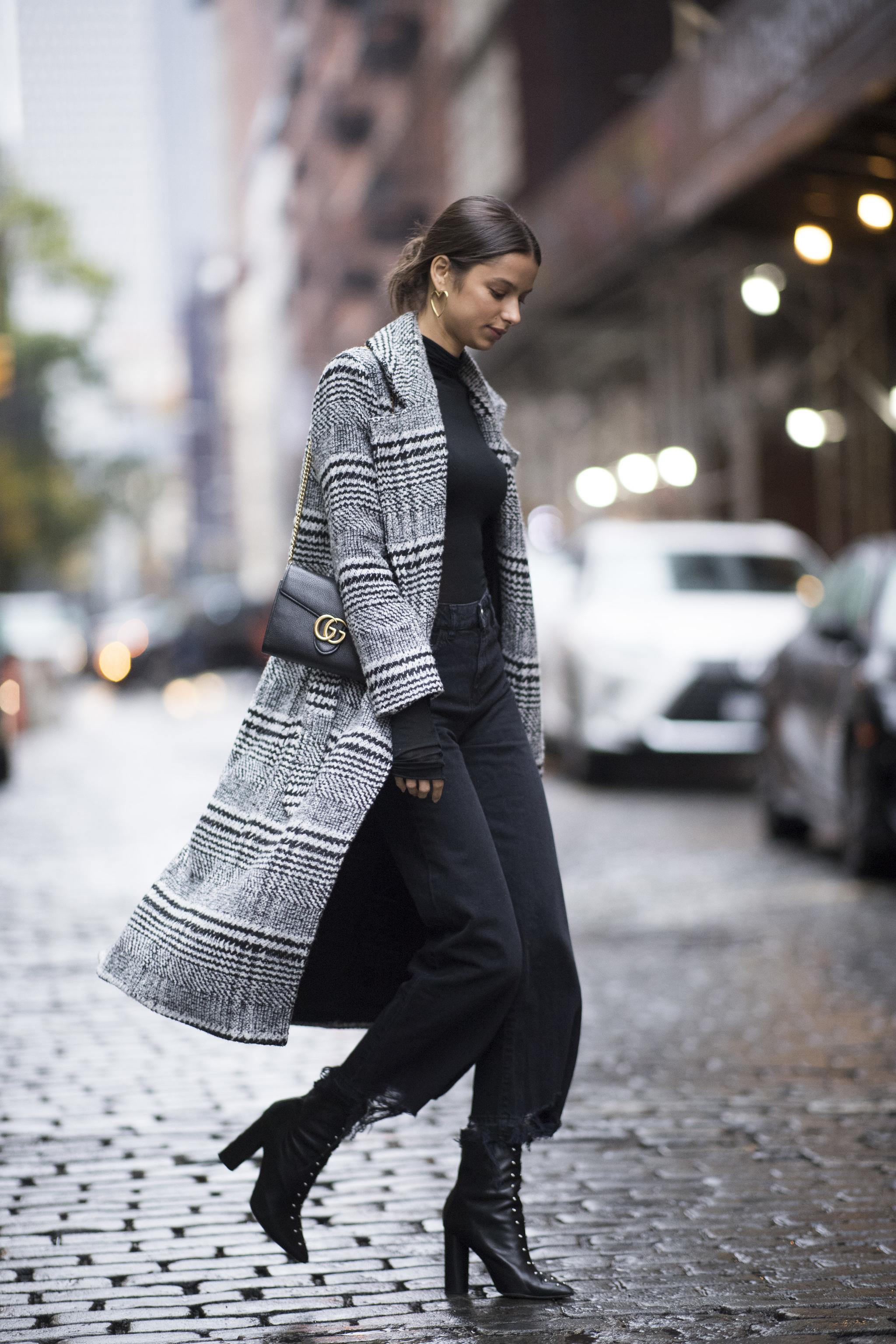 Los abrigos XL son una opción impecable.