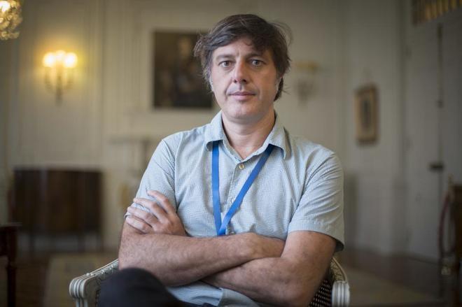Andrés Barba, ganador del premio Herralde de Novela 2017.