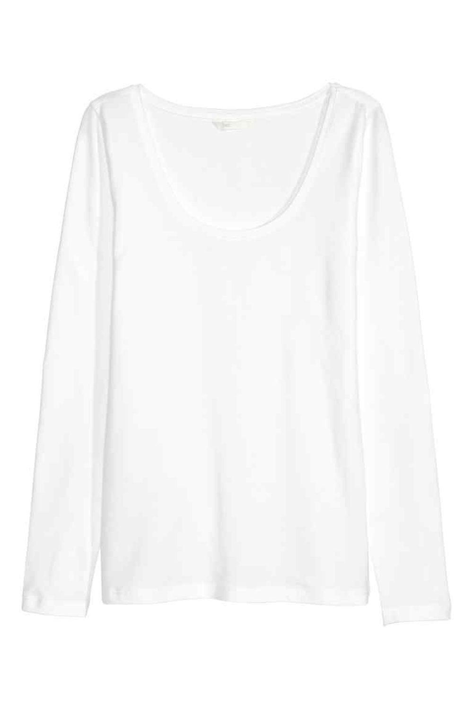 Camiseta de punto de HyM(7,99 euros)