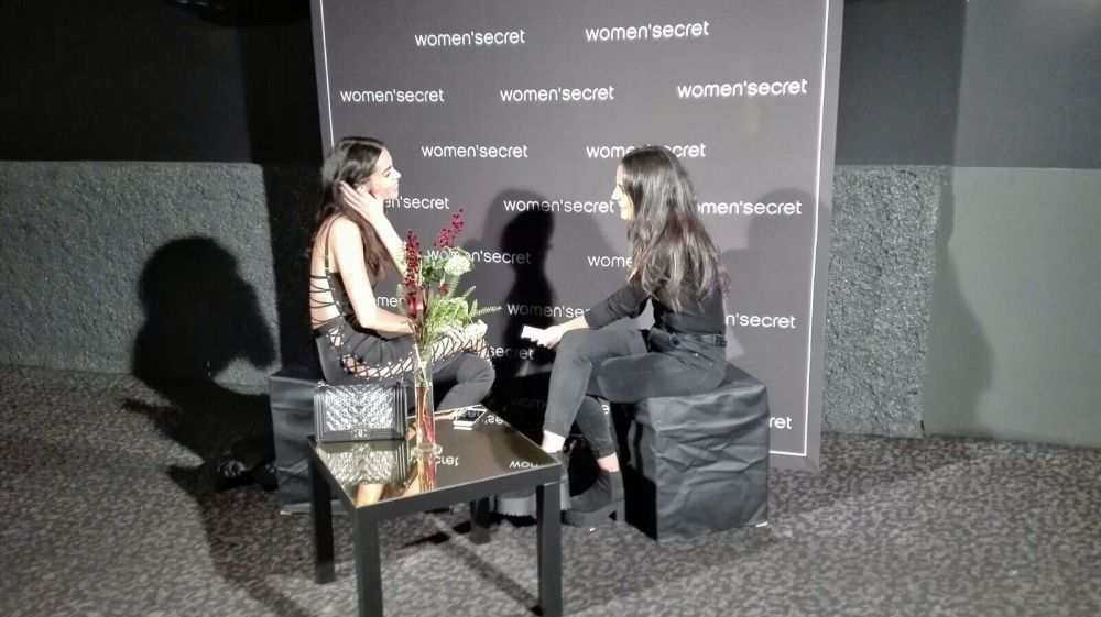 Entrevista a Joana Sanz en la Womens Secret Night