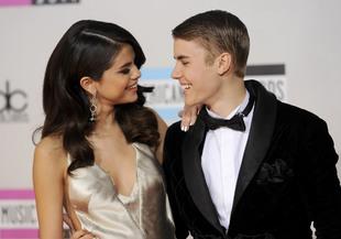 Selena y Justin fueron pareja durante dos años desde 2010