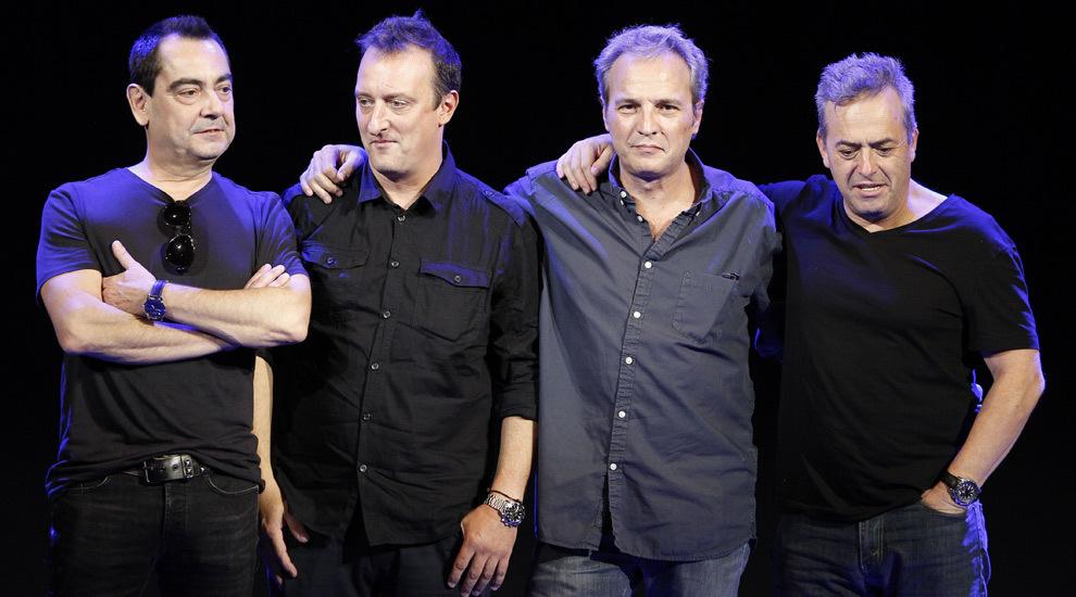 De izquierda a derecha.; Javier Molina, Daniel Mezquita, David Summers...