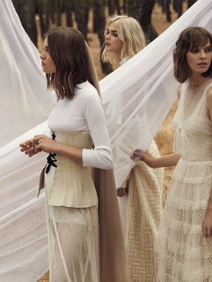 10 vestidos sencillos para novias millennials.