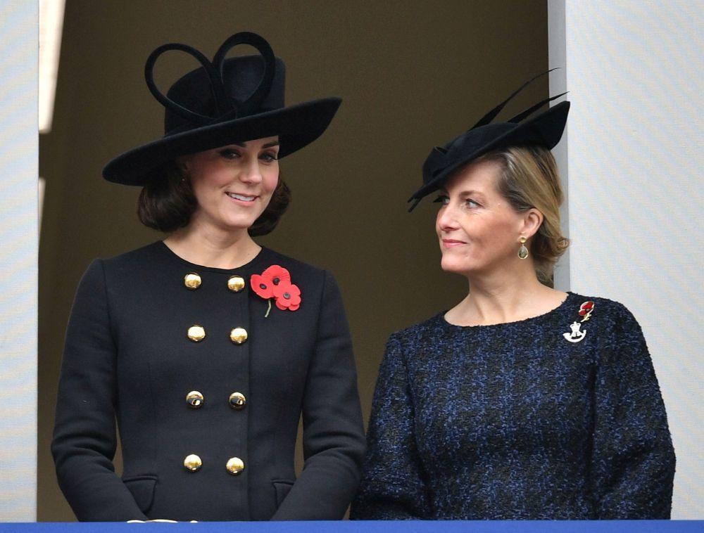 Kate Middleton y Sophia Countess