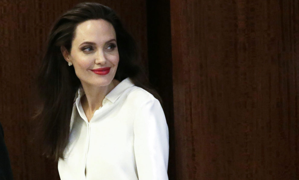 Angelina Jolie, fiel a las marcas italianas para completar sus looks
