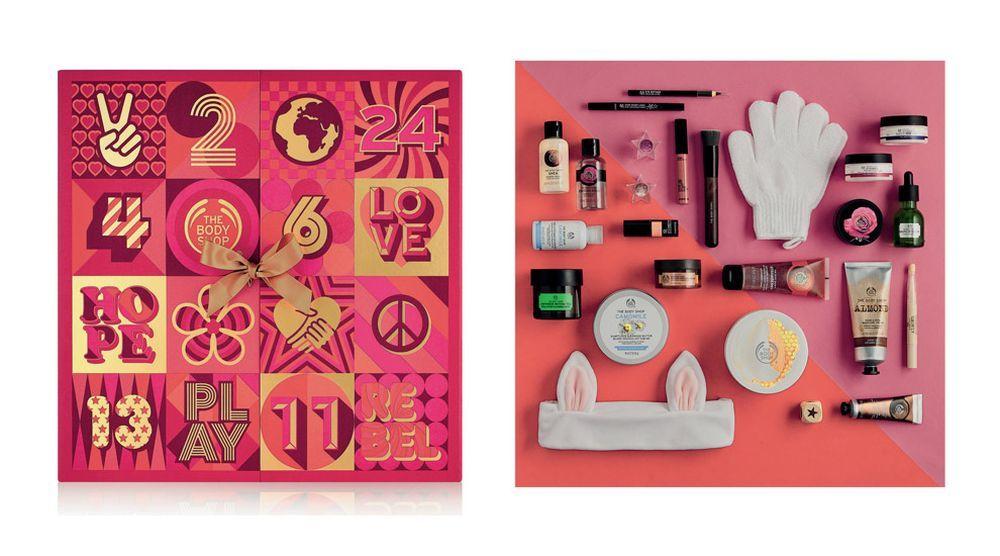 Calendario De Adviento Maquillaje.Calendario De Adviento Ultimate The Body Shop Los 15 Mejores