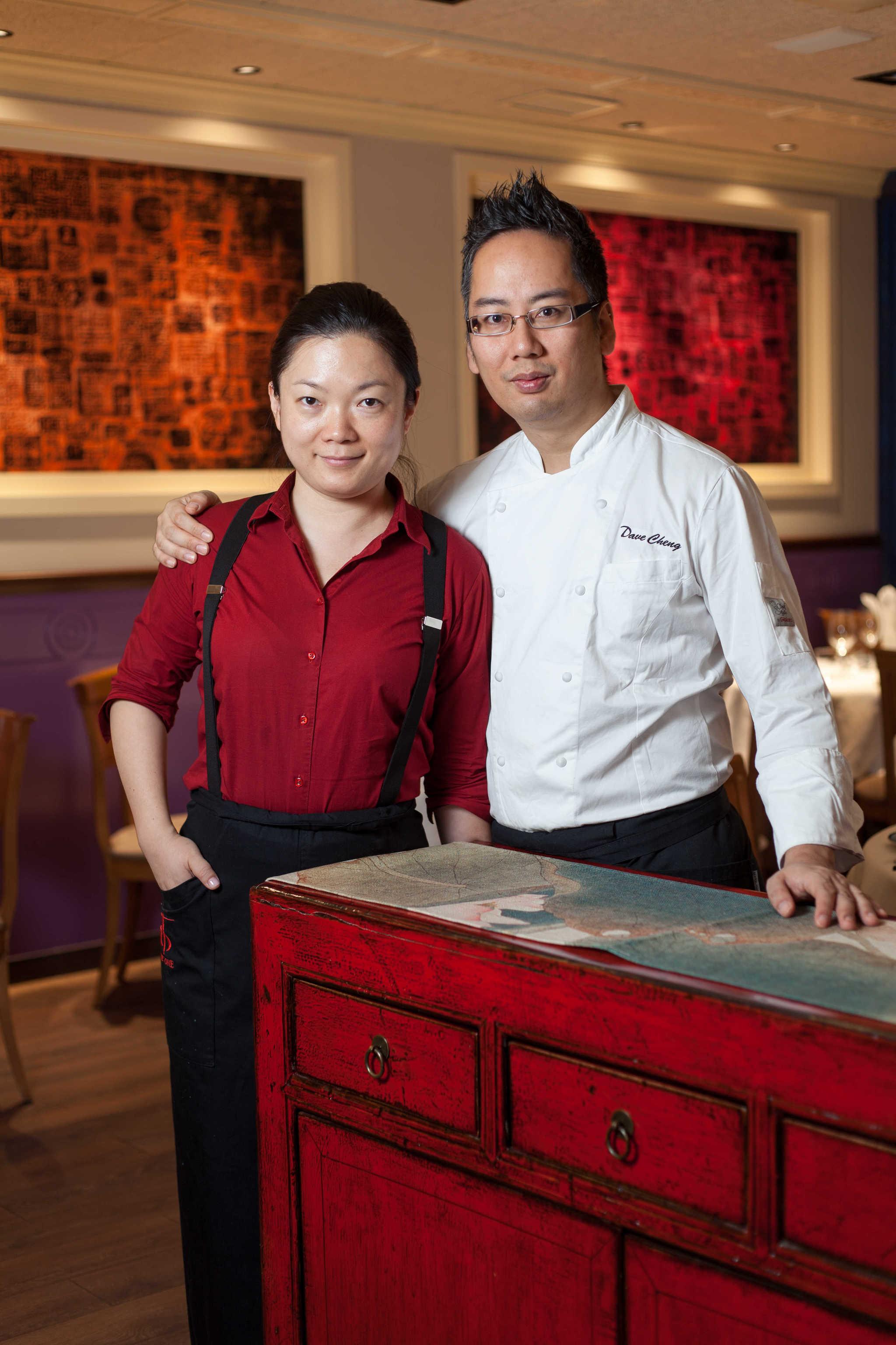 Xiang Xu y Dave Cheng, propietarios de The One.