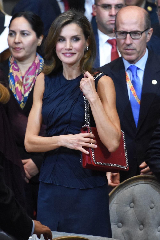 Doña Letizia en la Cumbre Mundial de líderes contra el cáncer.