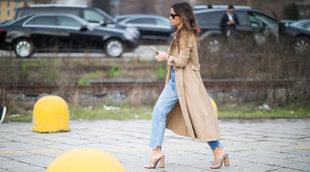 Es un básico en los looks de la temporada. Miroslava Duma opta por...