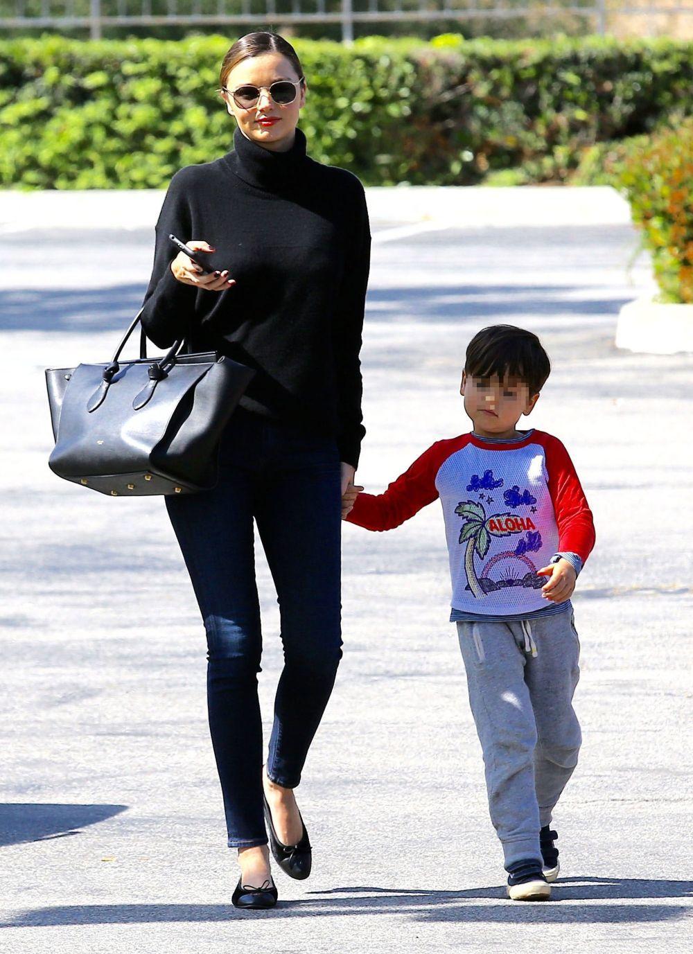Miranda Kerr y su hijo
