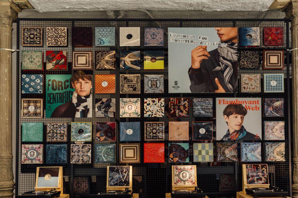 Hermès inaugura Silk Mix en Madrid.