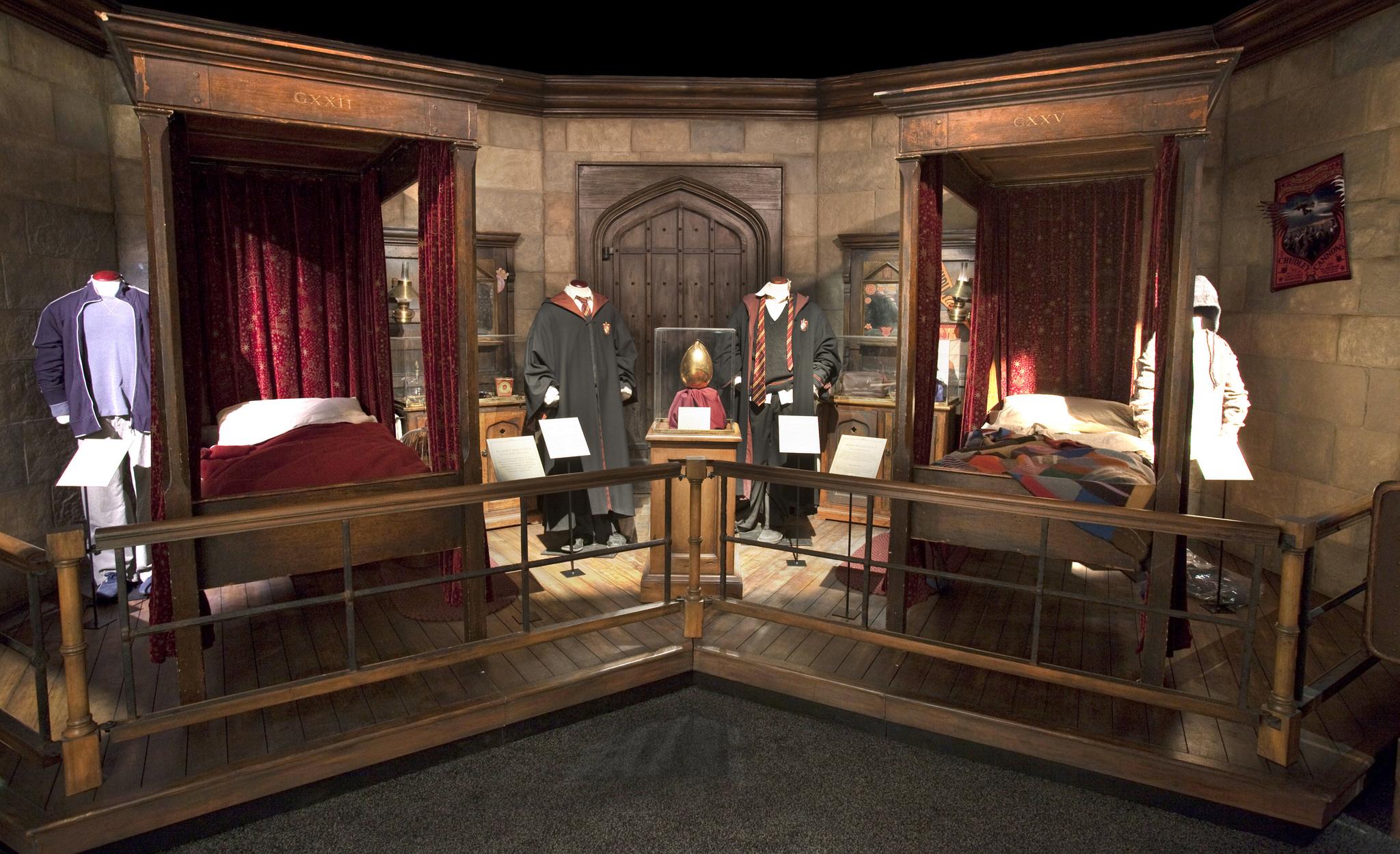 Dormitorio de Harry Potter y Ron Weasley.
