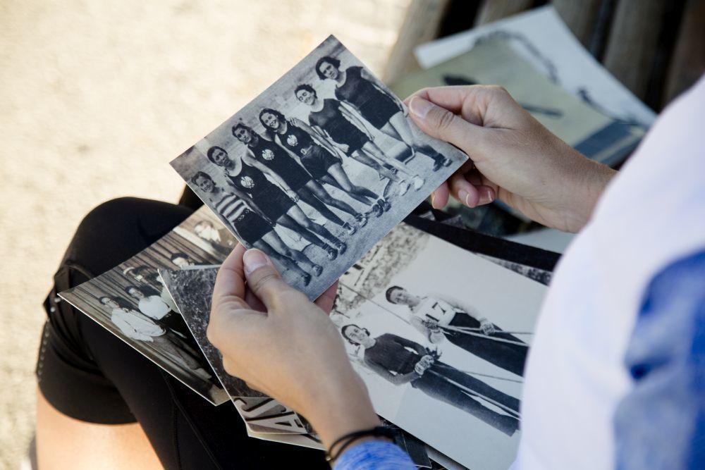 Fotos de las victorias de las protagonistas del documental.