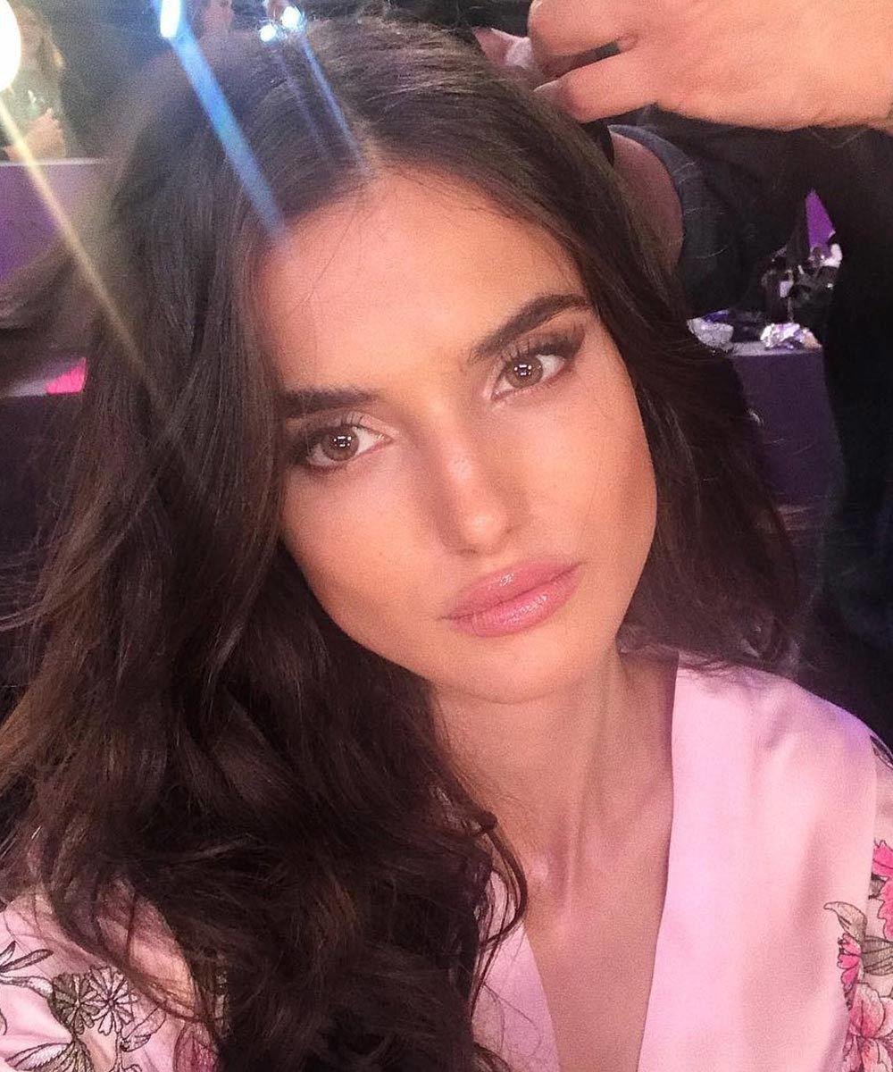 La modelo y ángel de Victorias Secret española, Blanca Padilla,...
